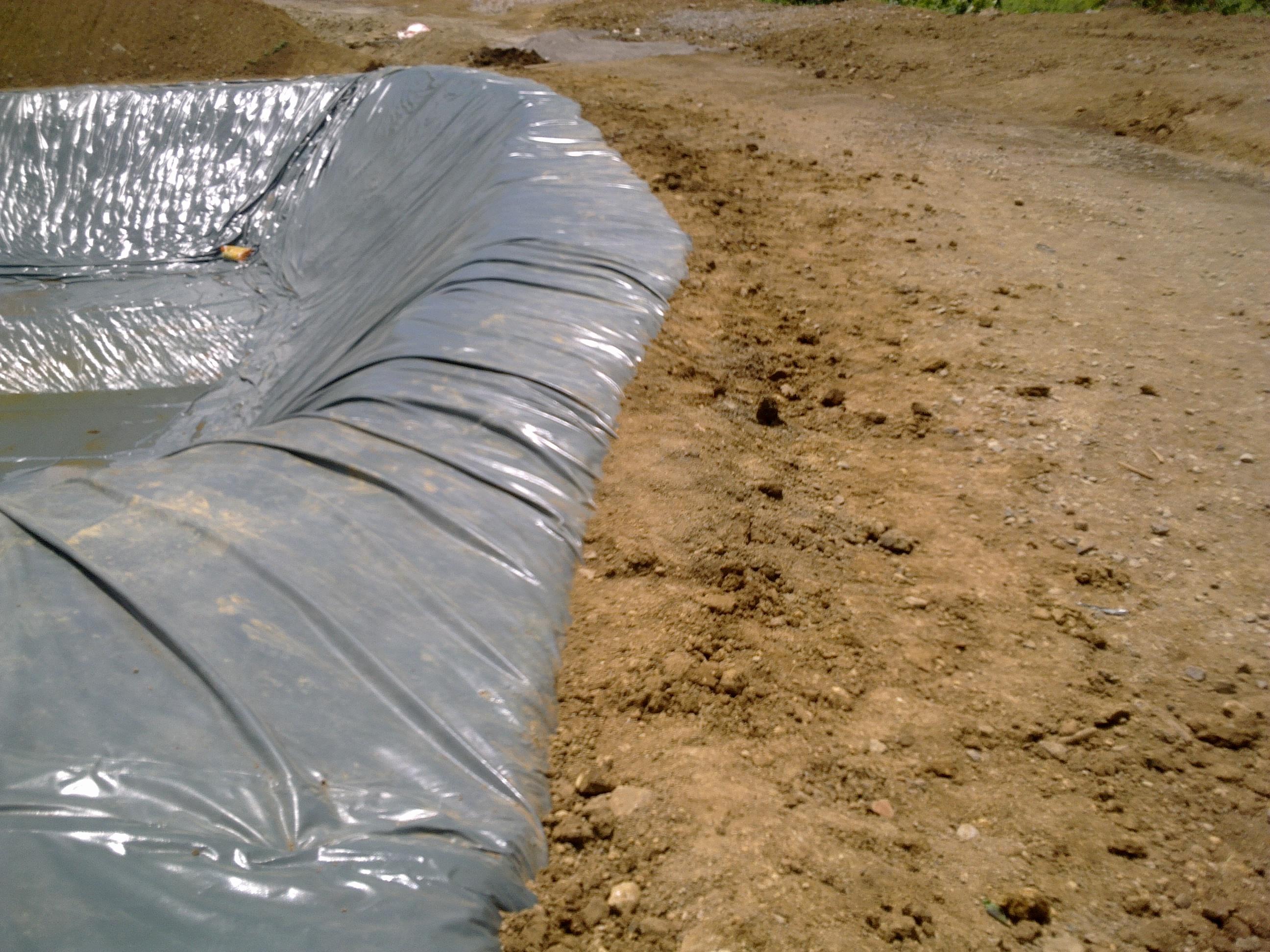 Pond liner fabrimetrics philippines inc for Pond liner material